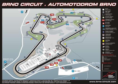 Mapka závodního okruhu