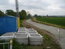 Stavba nové cyklostezky do Holásek