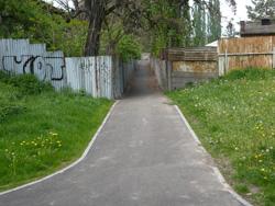 """Krásný chodník """"do nikam"""""""