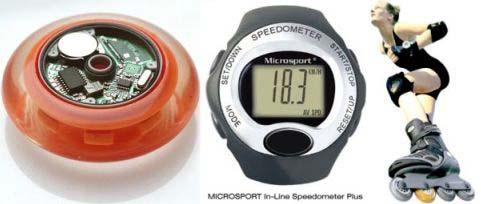ukázka tachometru Microsport