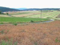 Pohled od Lešné ke Kostelci