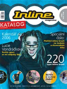Obálka prvního čísla časopisu Inline Magazine